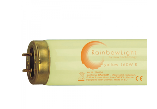 Solariumröhren Rainbow Light yellow 160 W